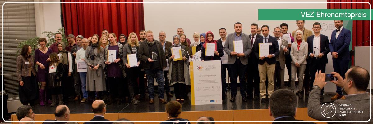 VEZ Ehrenamtspreis 2018